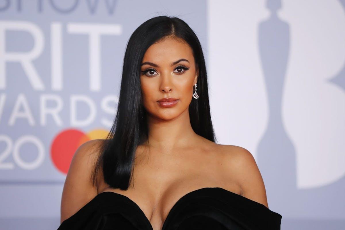 Maya Jama at the Brit Awards 2020