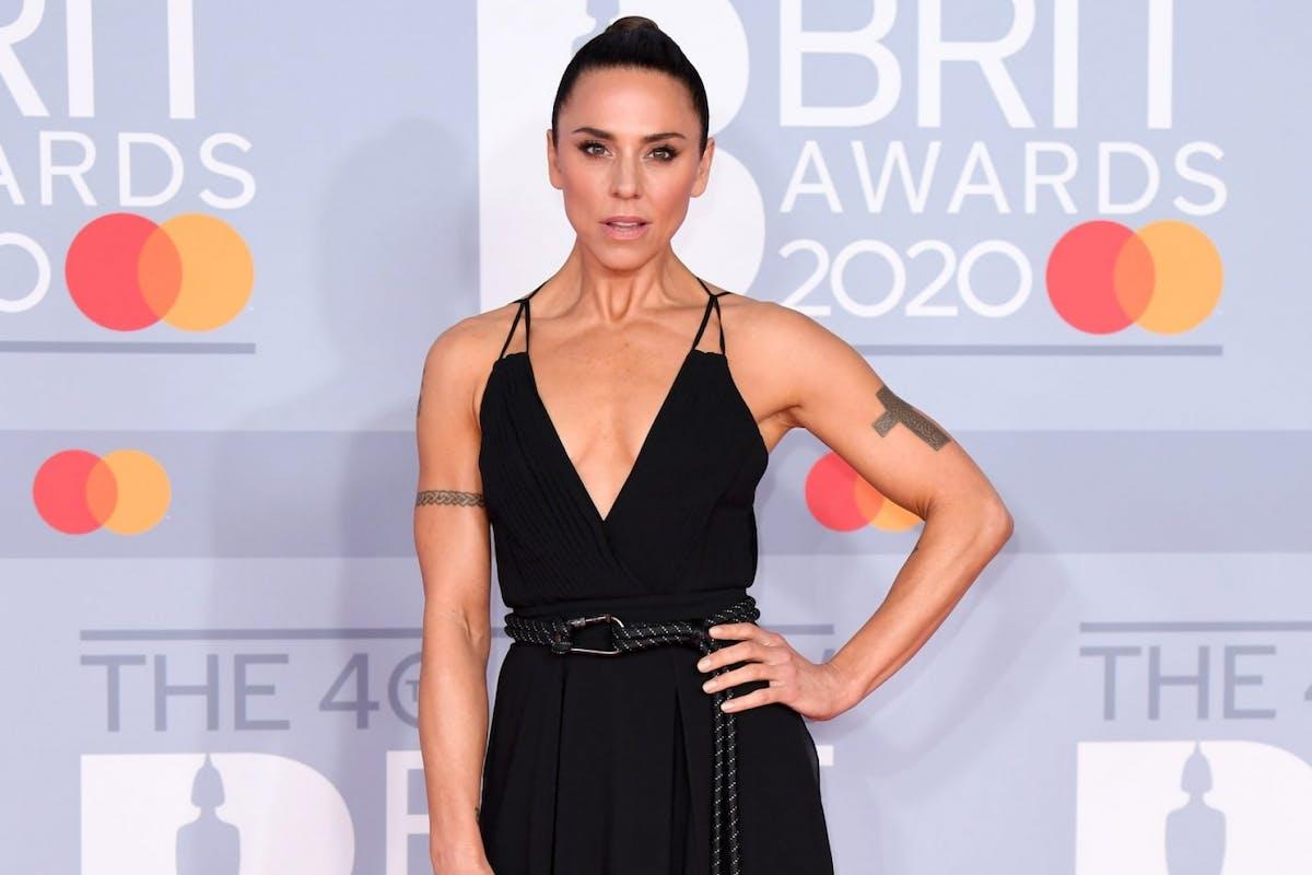 Melanie C at the Brit awards 2020