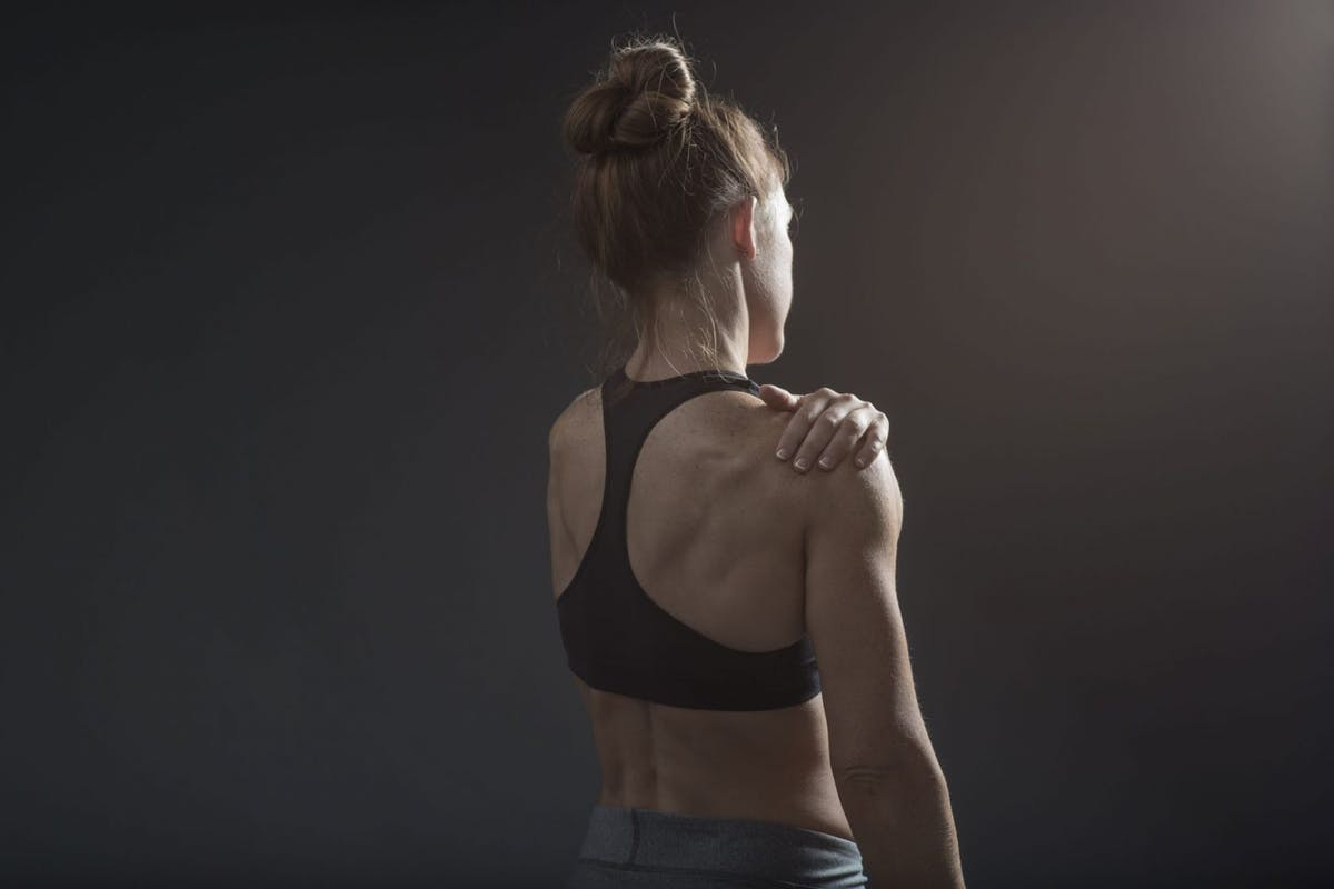 Should we exercise with a pulled muscle?