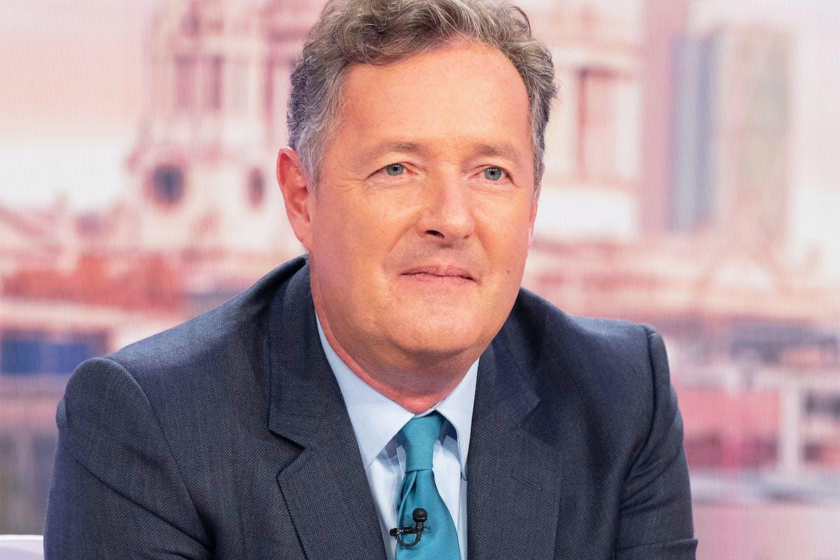 Piers Morgan on ITV's Good Morning Britain