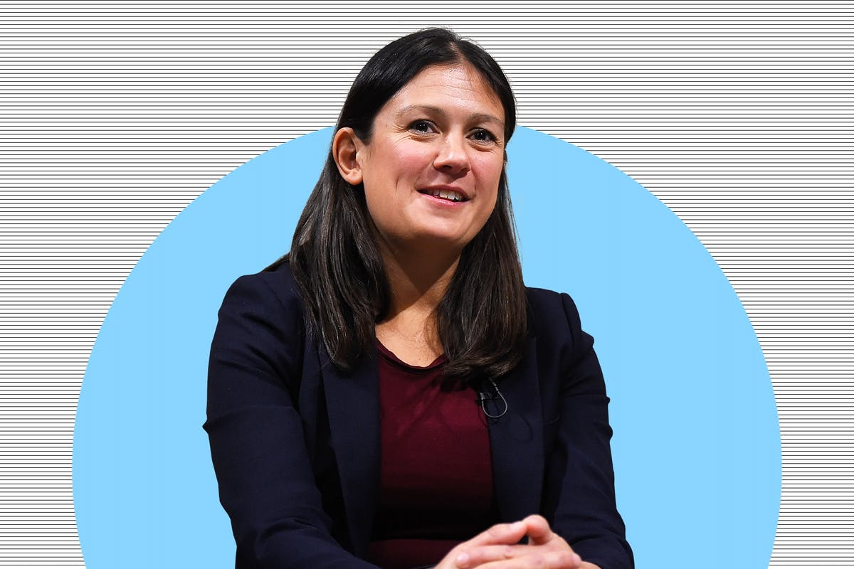 Lisa Nandy Labour leadership candidate.