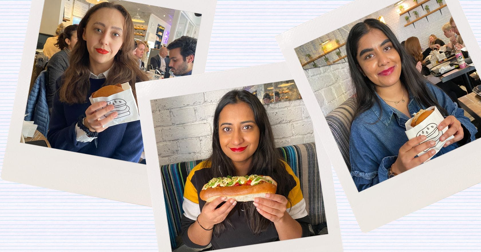 We tested 3 different lip products by eating burgers, and this is what happened