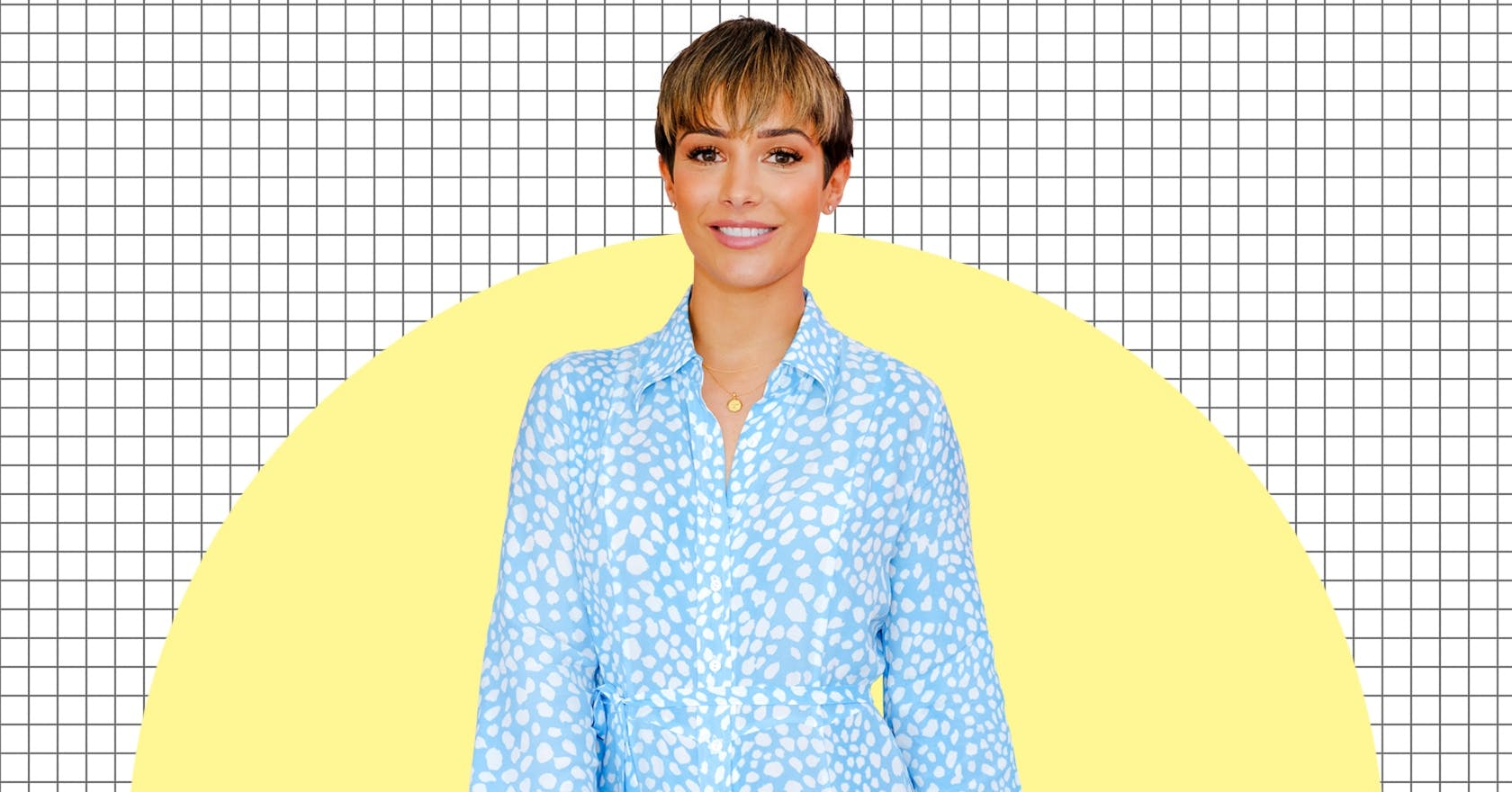 """Frankie Bridge is always """"waiting for the next thing"""" to make her happier, and it's so relatable"""