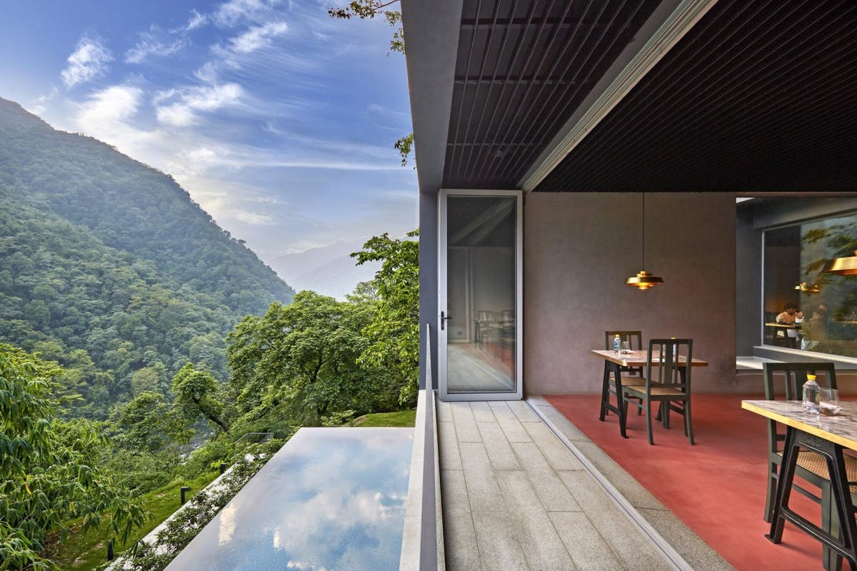 The Roseate Ganges villas in Northern india