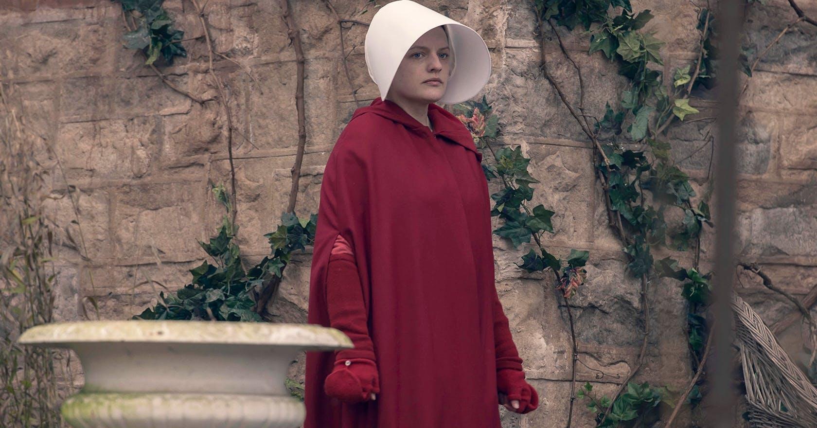 Elisabeth Moss' new wellbeing hack? Filming The Handmaid's Tale