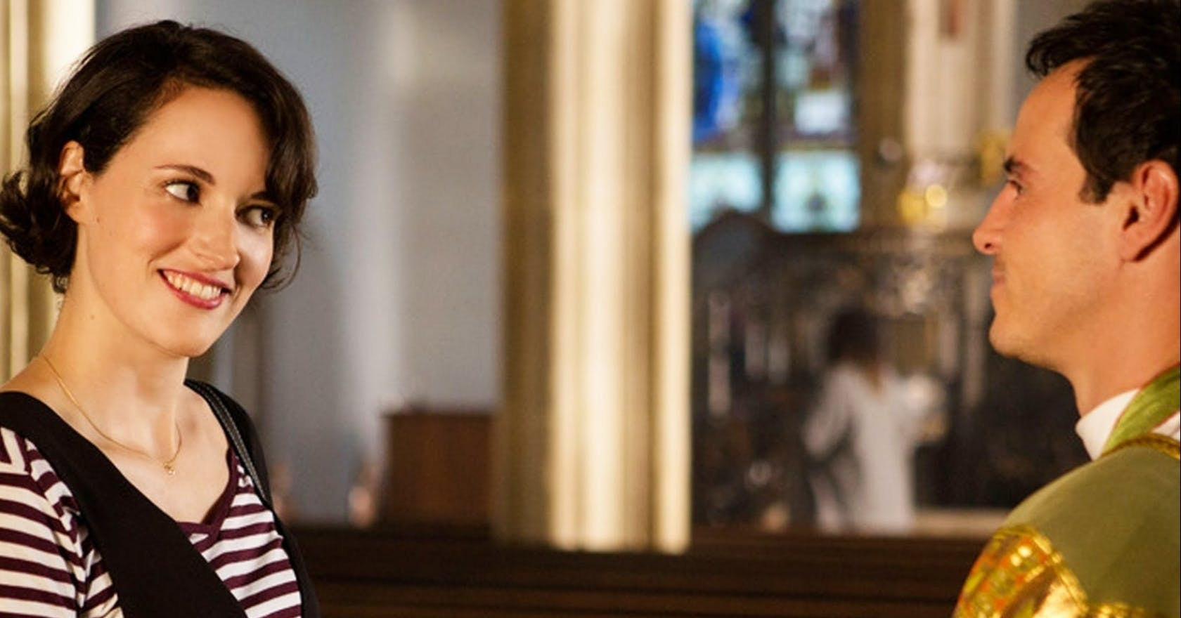 Phoebe Waller-Bridge consulted a real-life priest to create that iconic Fleabag character