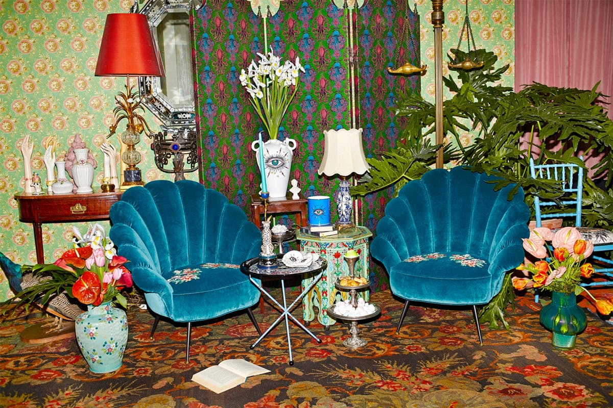How interiors reached the height of fashion.