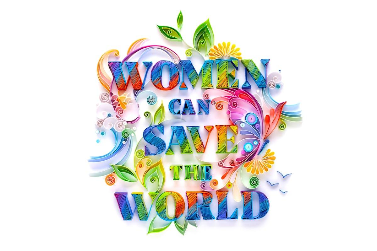 YULIA BRODSKAYA artwork women save the world