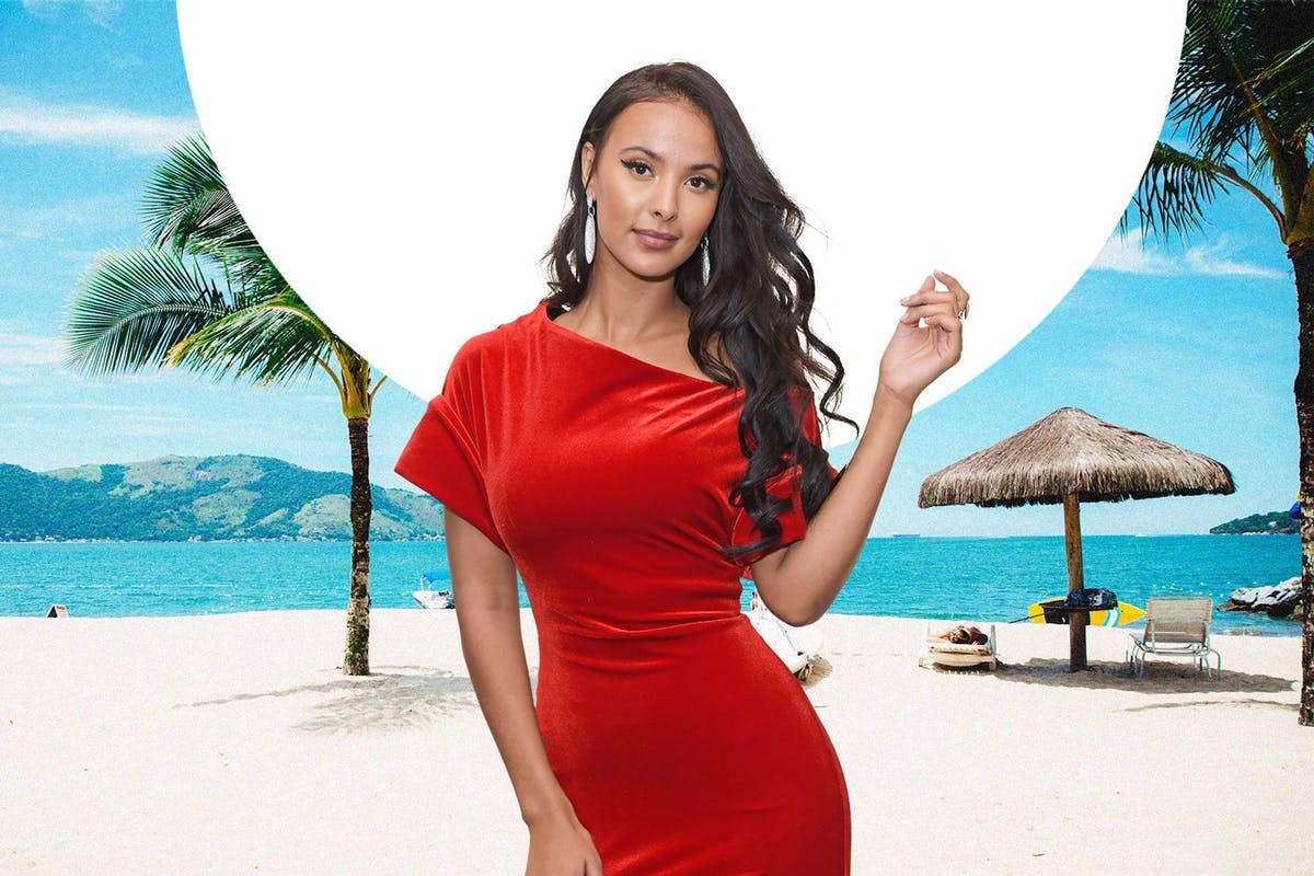 Maya Jama on holiday