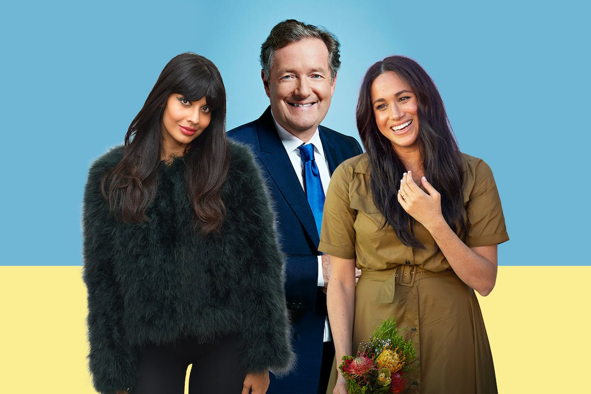 Piers Morgan's feud with meghan Markle and Jameela Jamil