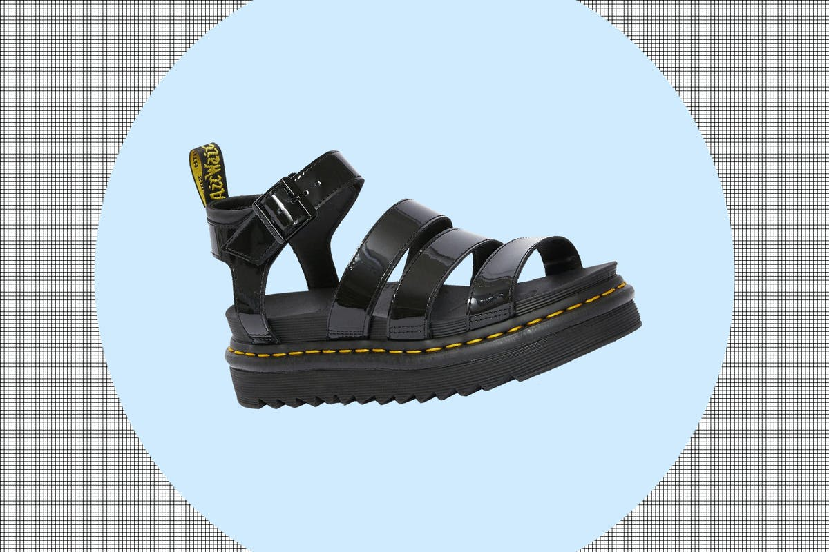 Best black chunky sandals to shop now