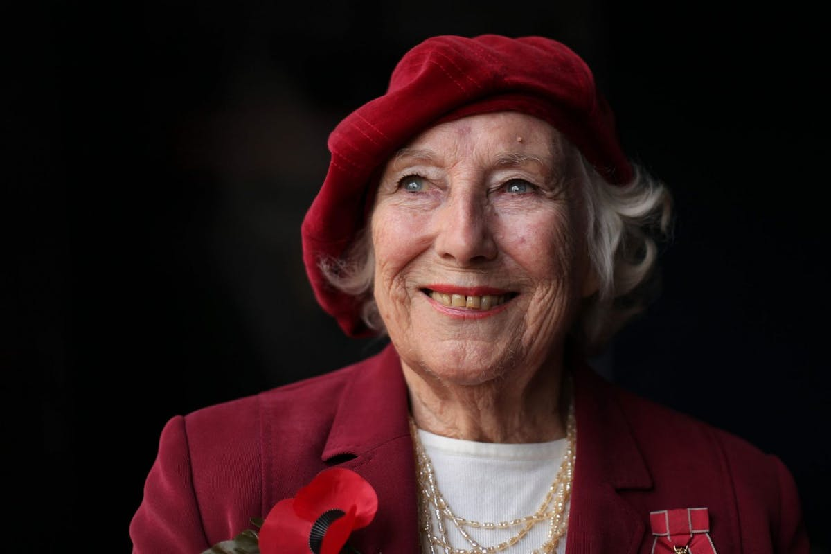 Vera Lynn is the expert on lifting spirits