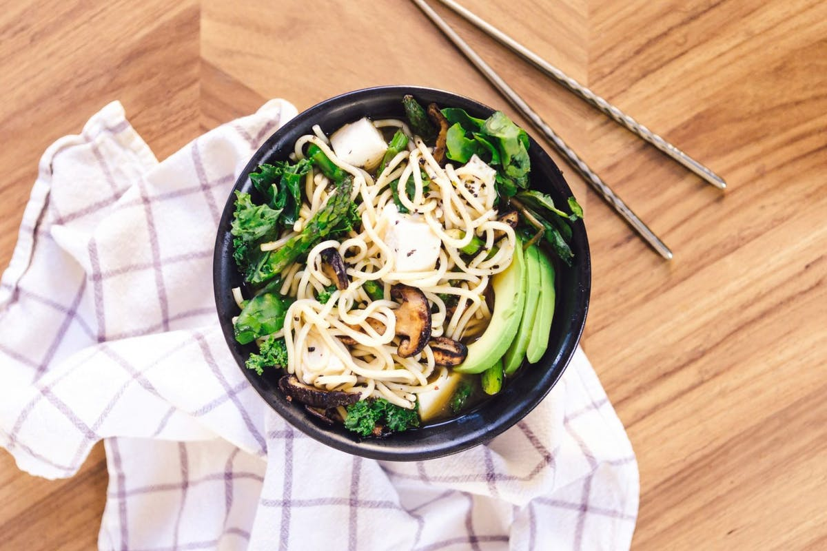 Noodles as alternative to pasta