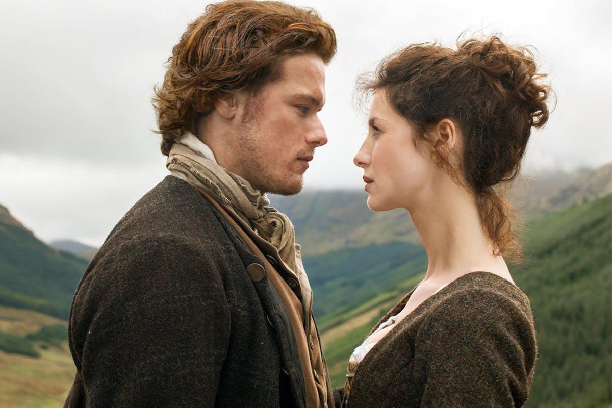 Caitriona Balfe as Claire Fraser in Outlander.
