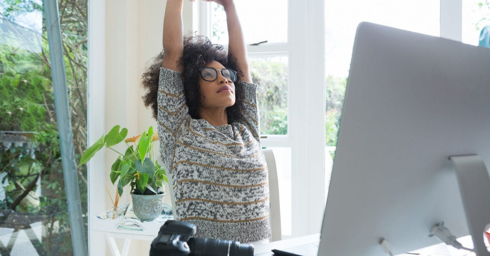Neck and shoulders stretches for when you've been staring at a screen all day