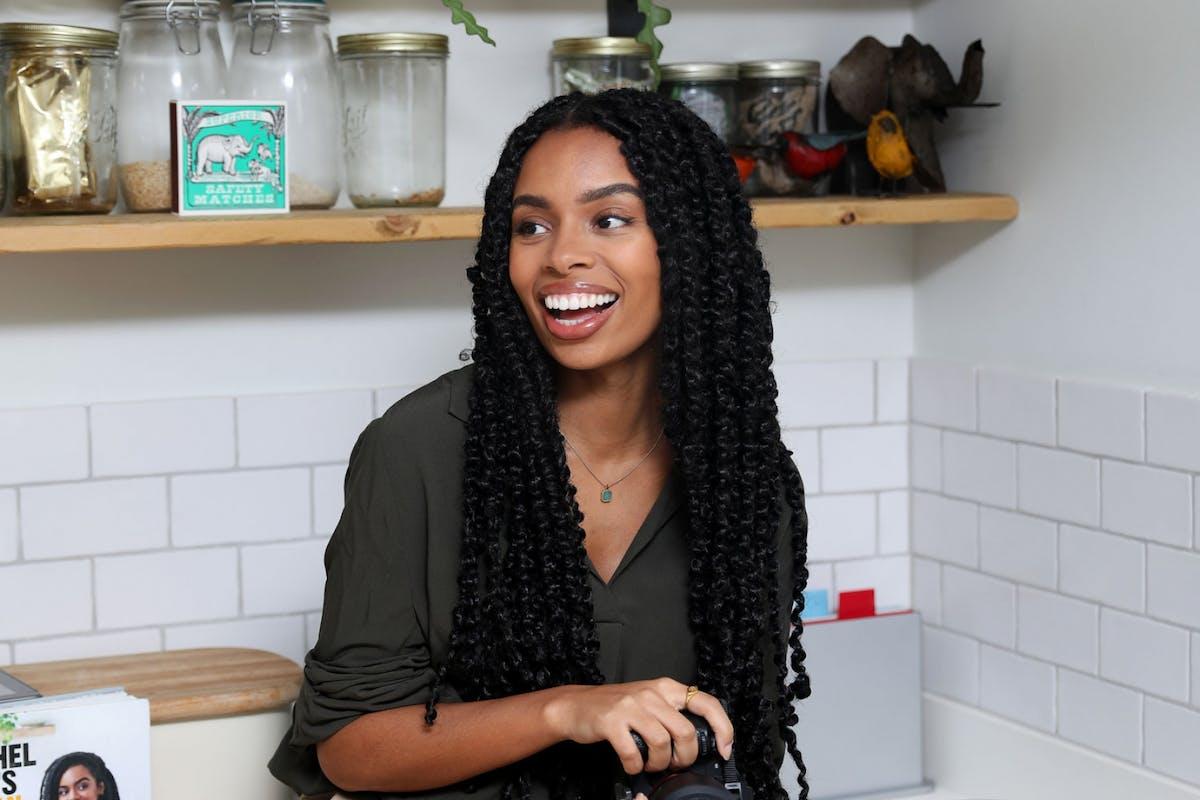 Rachel Ama Vegan chef