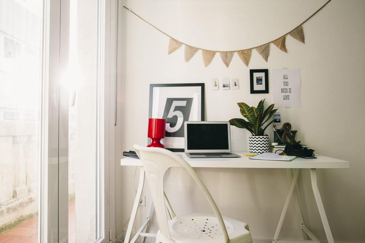 A deskspace