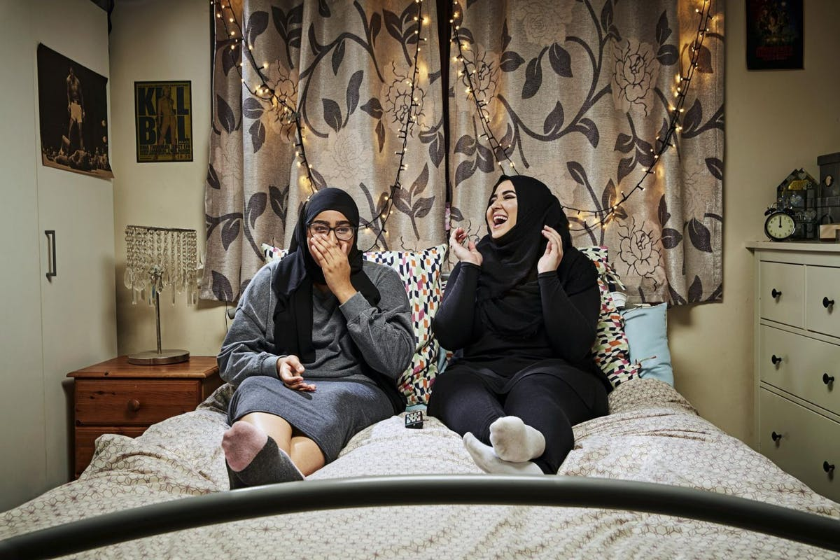 Gogglebox stars Amira and Iqra
