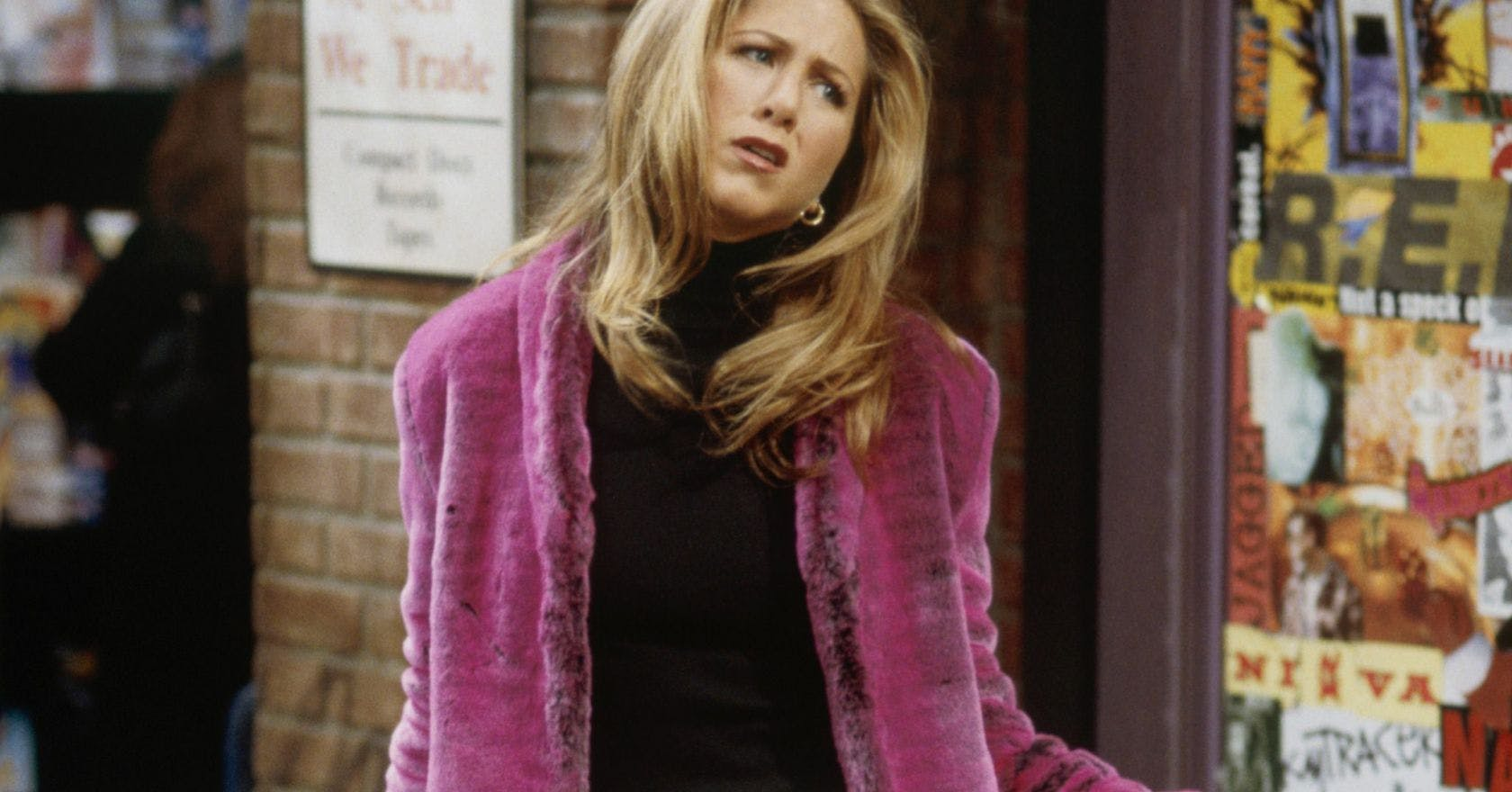 10 outfits that prove Rachel Green was a 90s style icon.