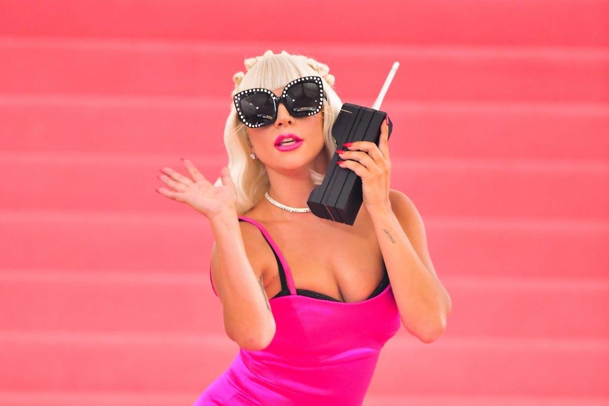 Lady Gaga arrives to The 2019 Met Gala Celebrating Camp