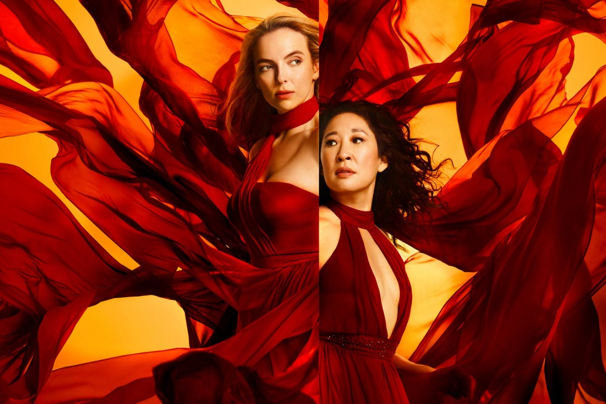 Killing Eve: Jodie Comer and Sandra Oh