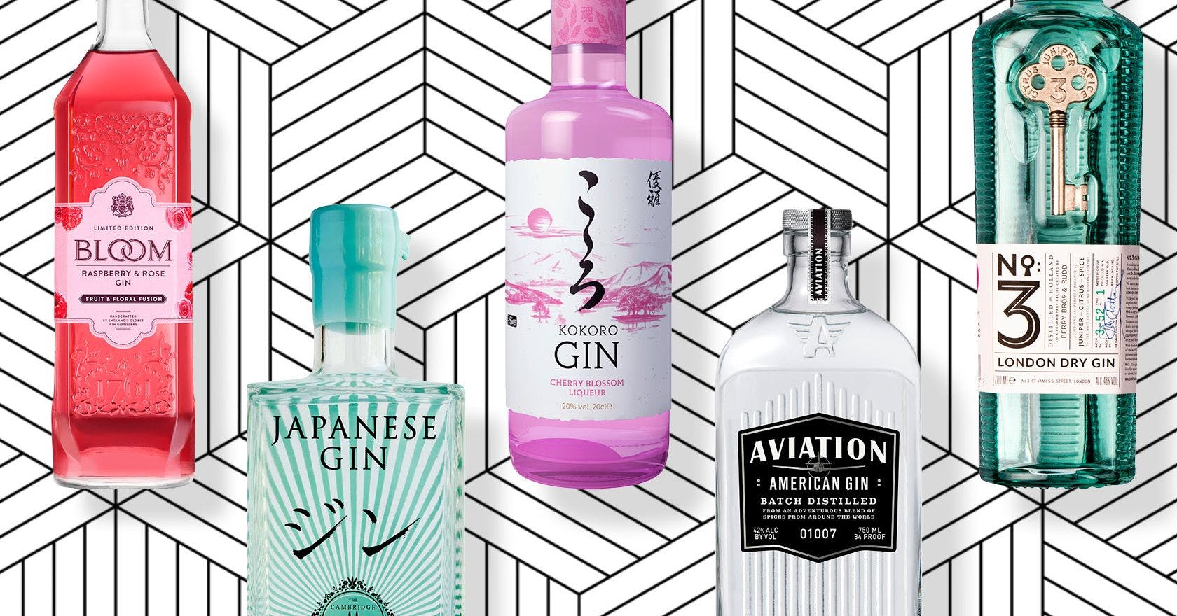 30 of the best gins (and low-alcohol stand-ins) reviewed by the Stylist team