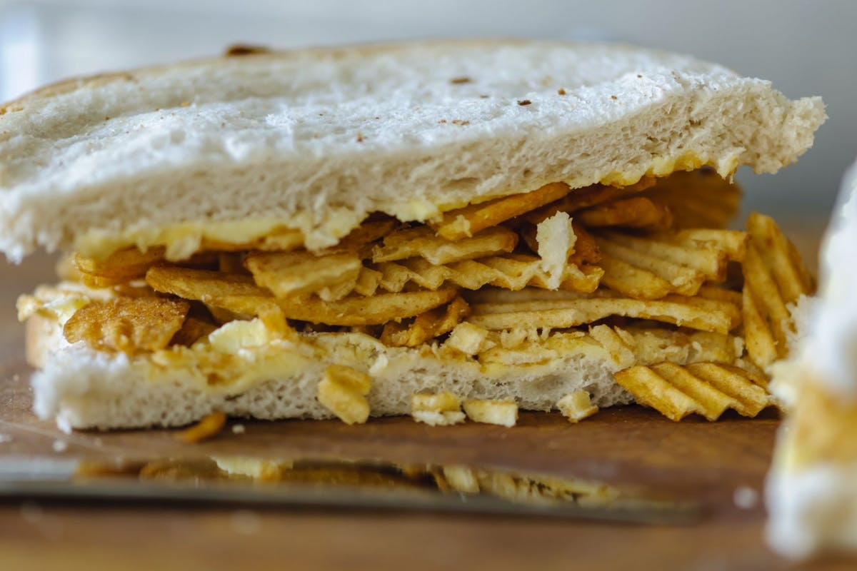 How to make the best crisp sandwich ever