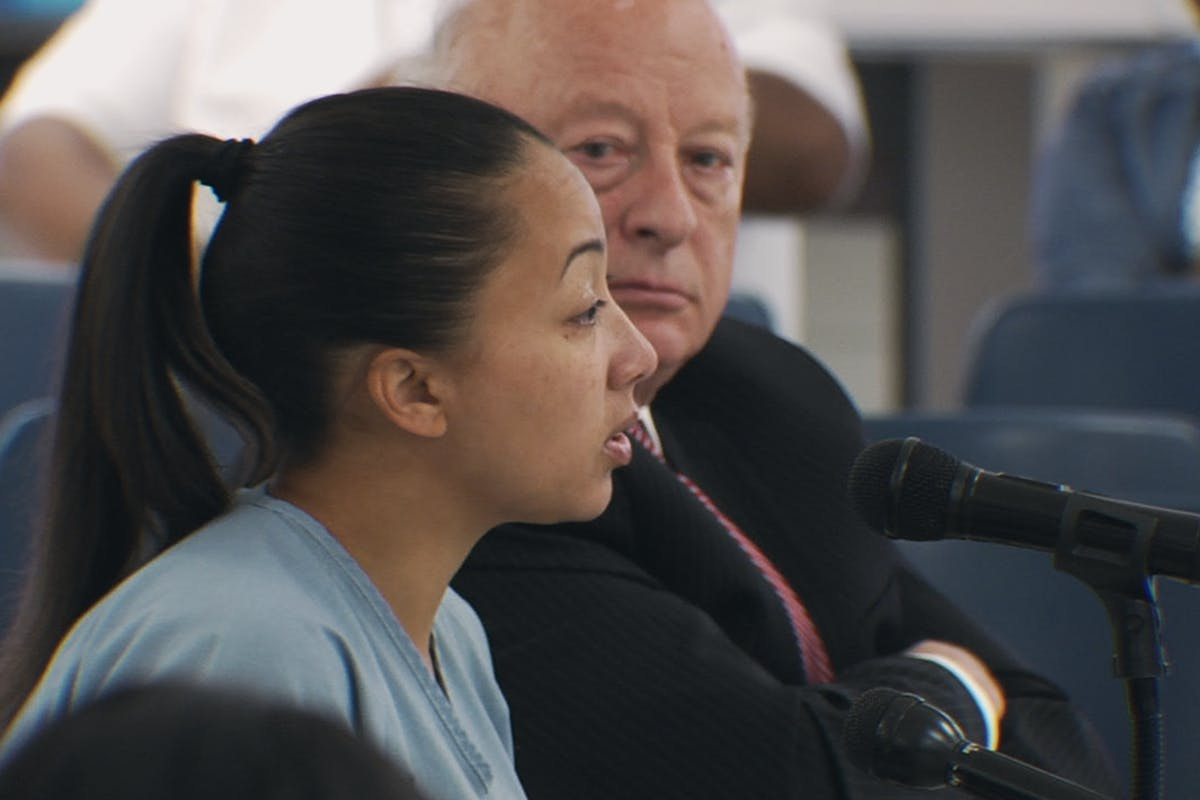 Murder To Mercy: The Cyntoia Brown Story on Netflix