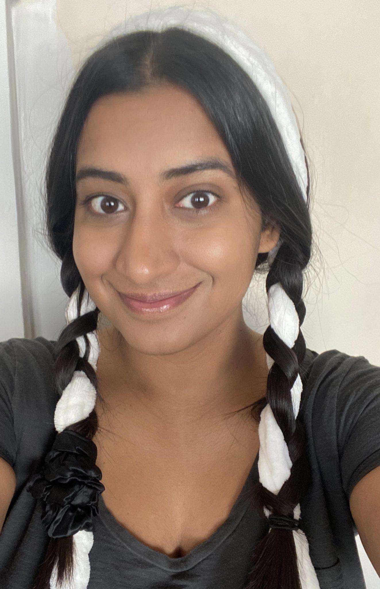 I Tried The No Heat Bathrobe Curls Trick That S All Over Tiktok