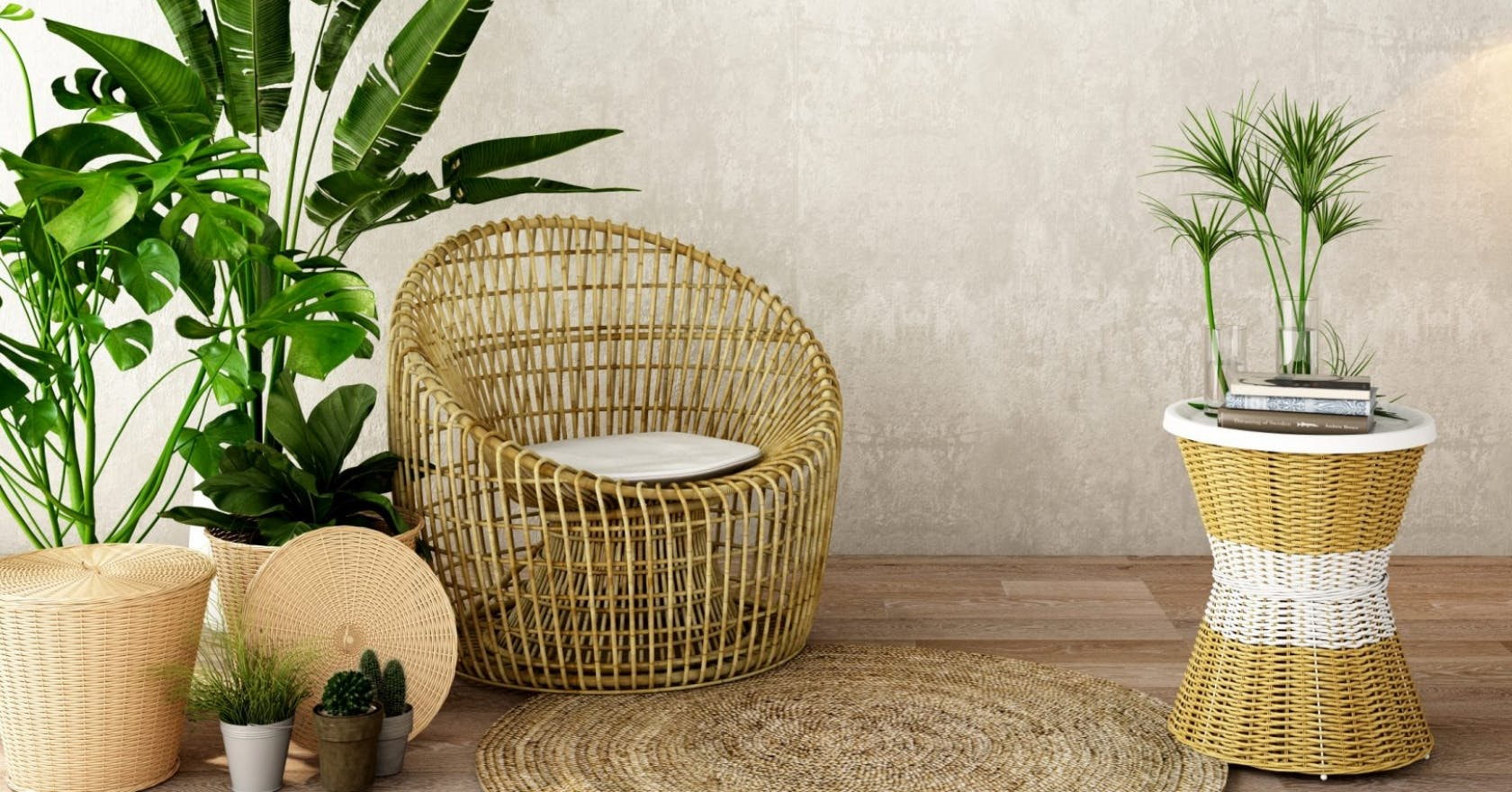 How To Upcycle Pre Loved Rattan Furniture