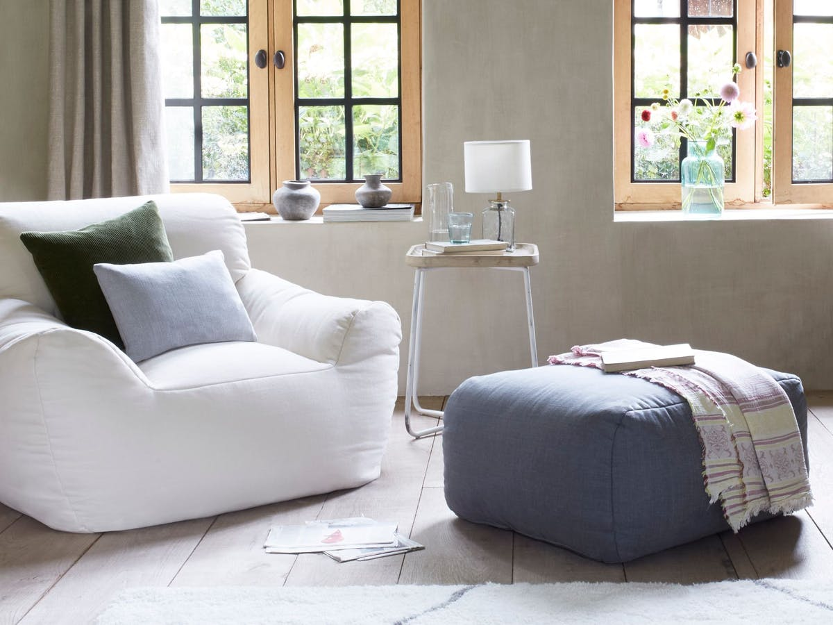 loaf new layabout chair squidger from 795 and layabout footstool squidger from 275 high res lifestyle