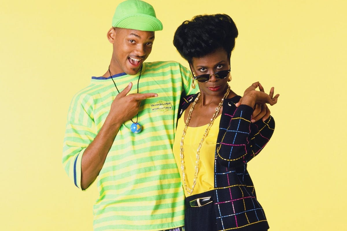 Will Smith as William 'Will' Smith, Janet Hubert as Vivian Banks -- Photo by: Chris Cuffaio/NBCU Photo Bank