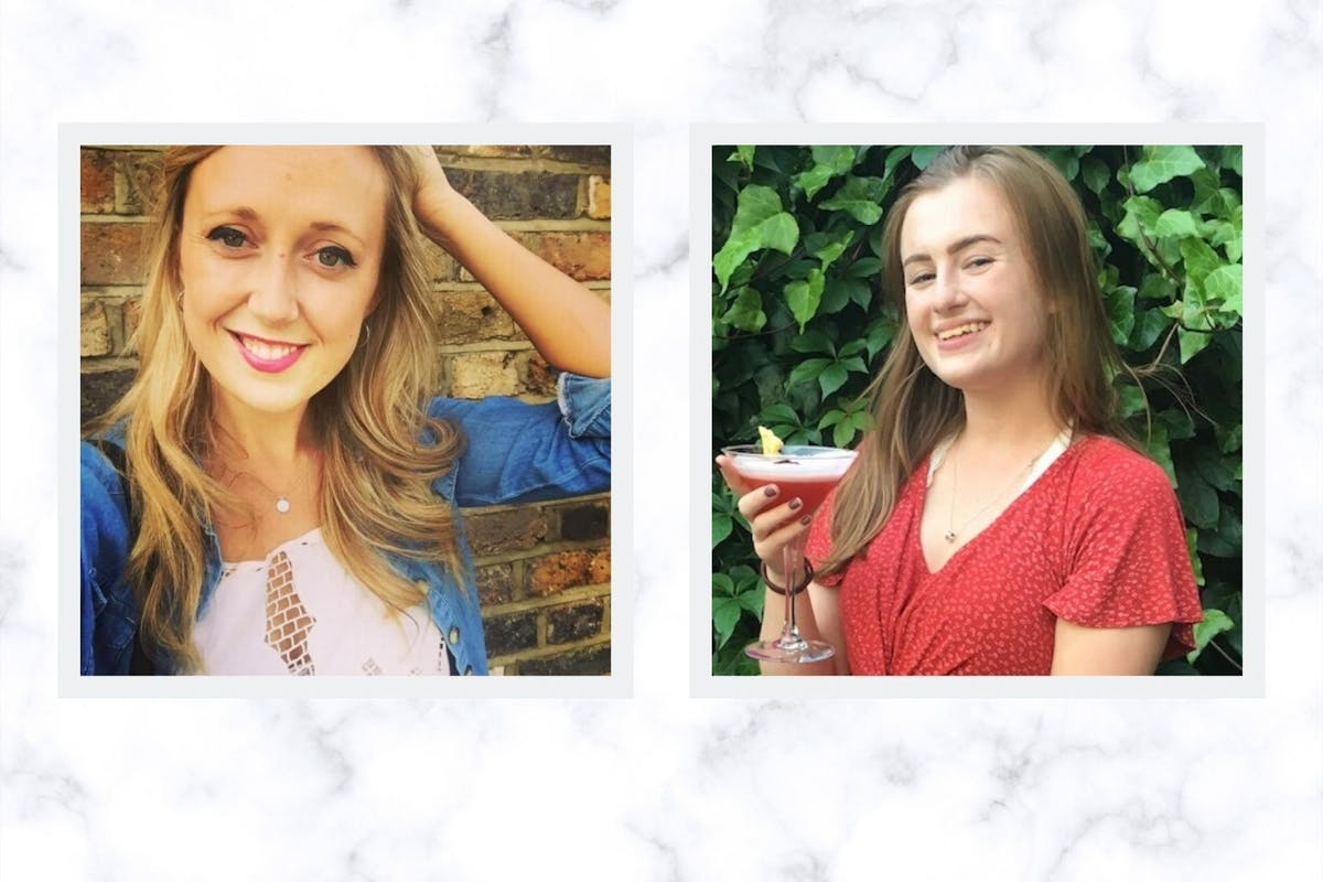 Sarah Biddlecombe and Lauren Geall