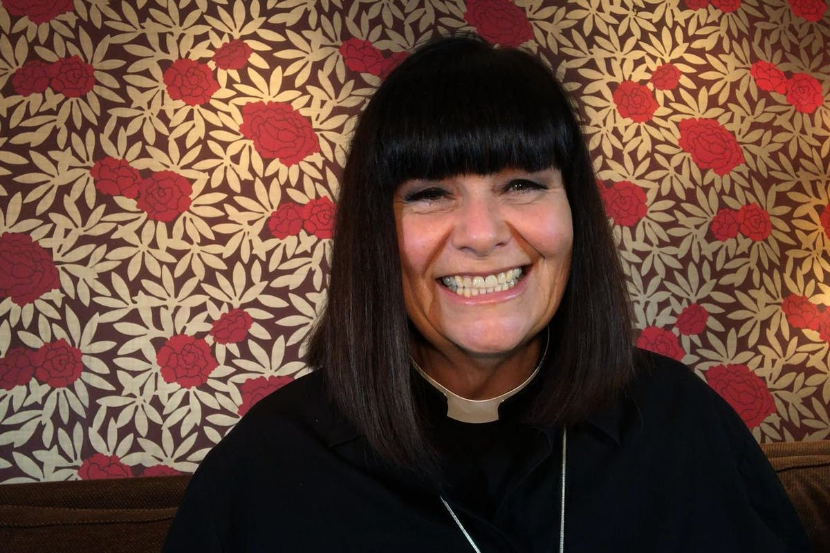 The Big Night In: Dawn French as The Vicar of Dibley.