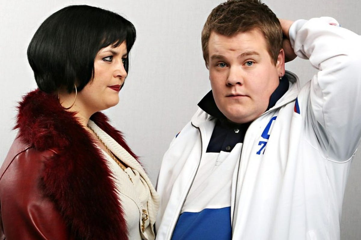 Nessa and Smithy from Gavin and Stacey