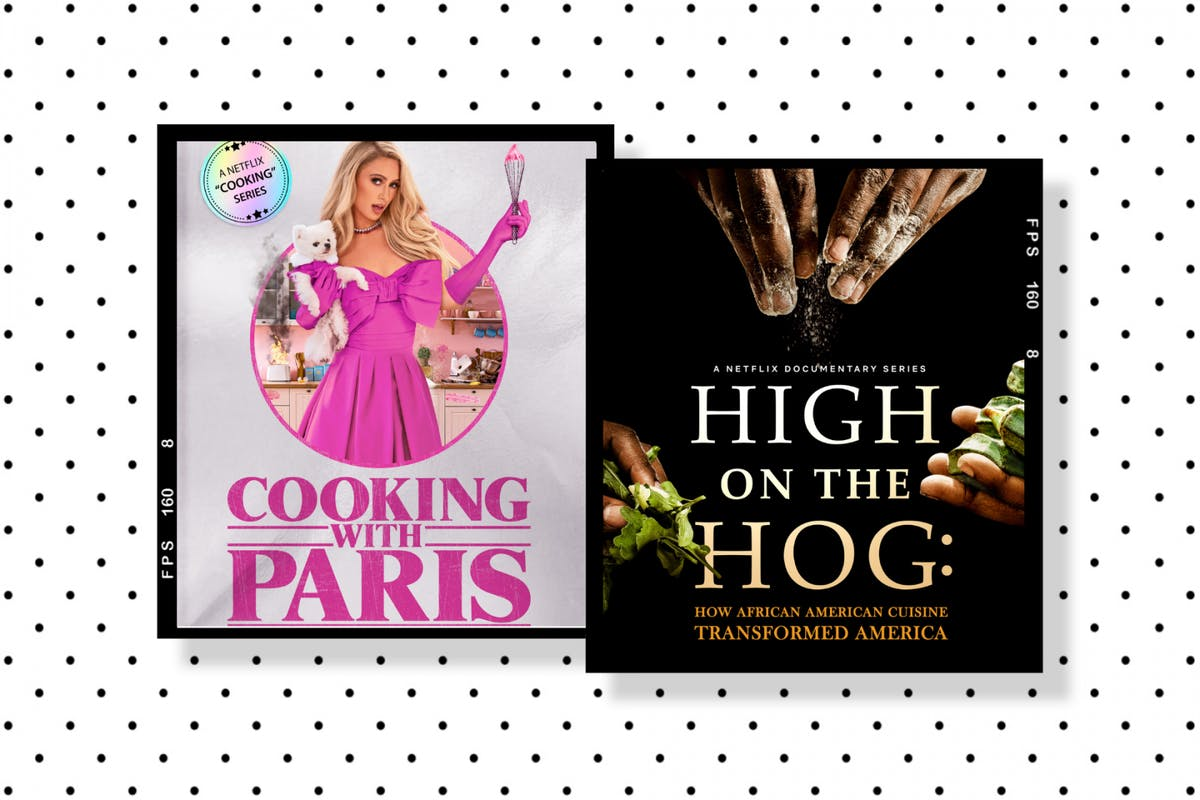 High On The Hog and Cooking With Paris: cooking shows on Netflix