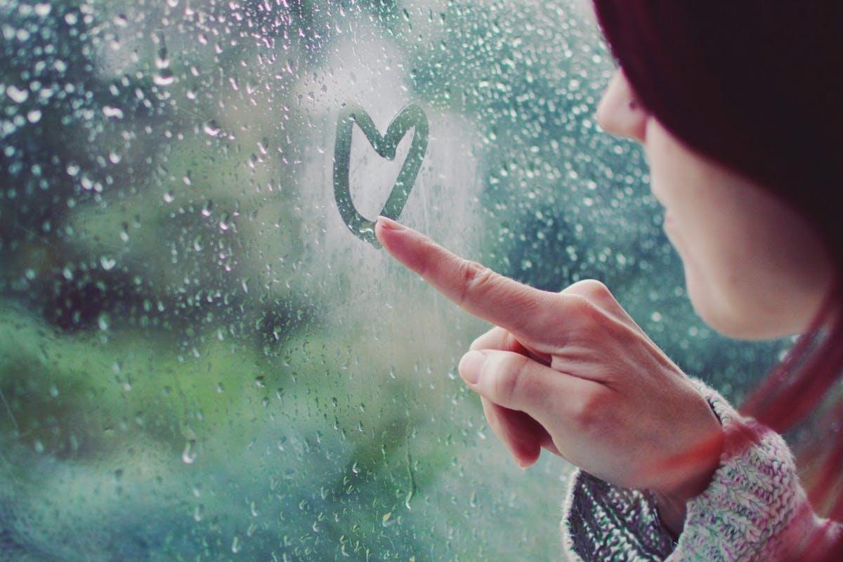 Rain affects mood