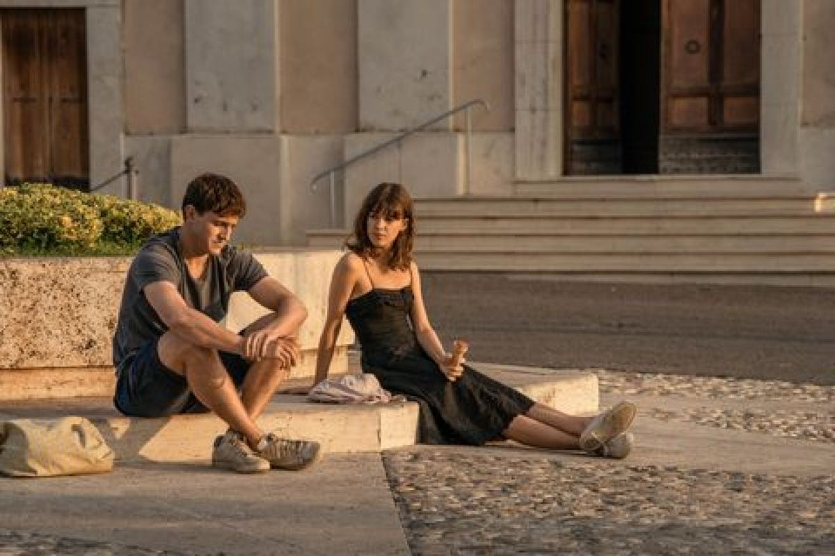 Normal People: Marianne and Connell in Italy.