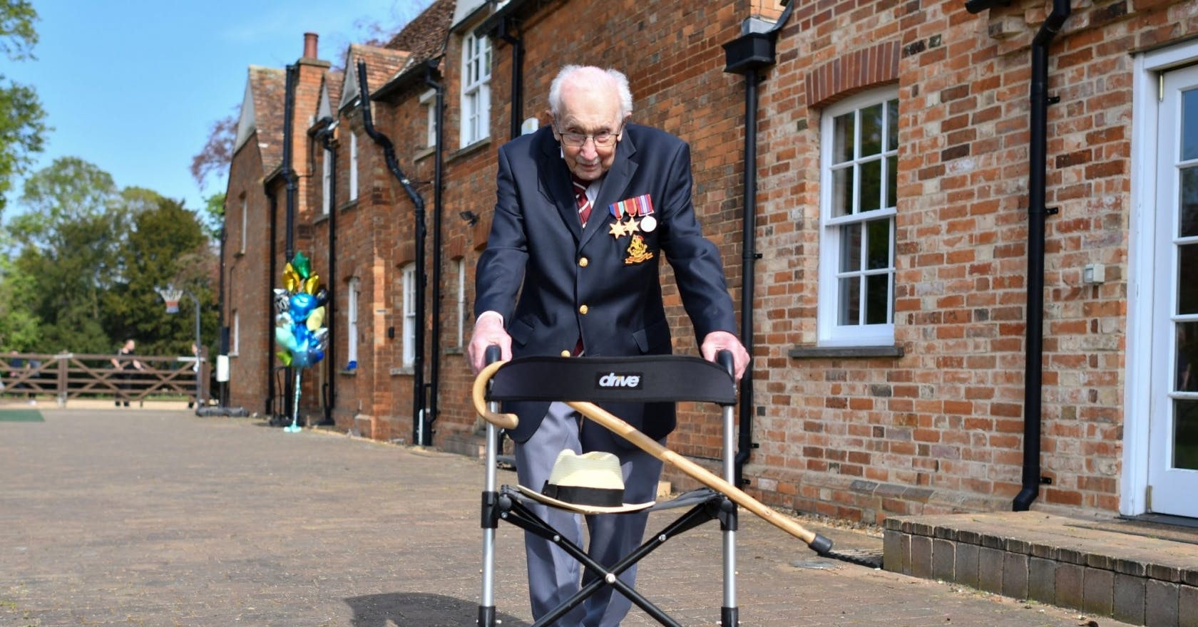 Captain Tom Moore turns 100 today, and he's been given a colonel title to celebrate