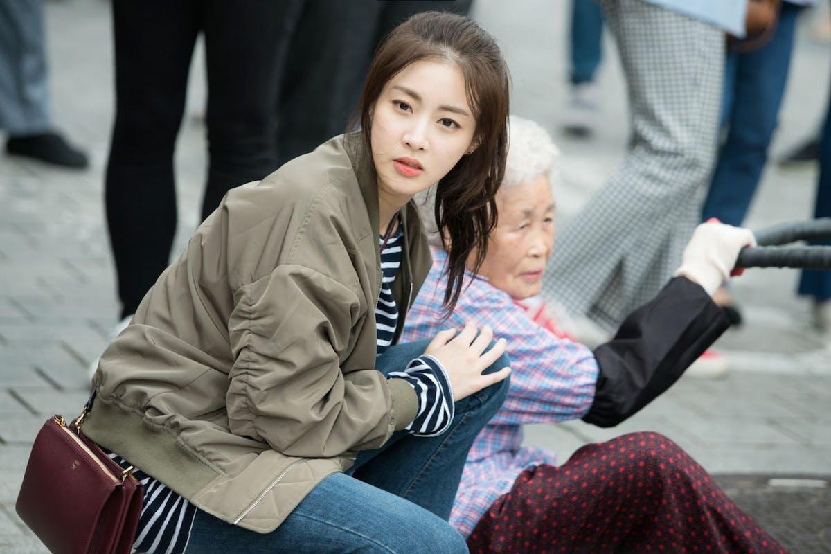 A still from K-drama Revolutionary Love on Netflix