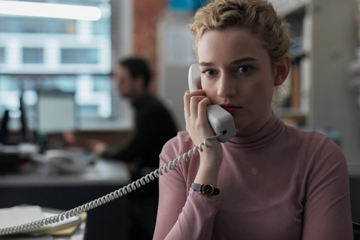Julia Garner in The Assistant film 2020