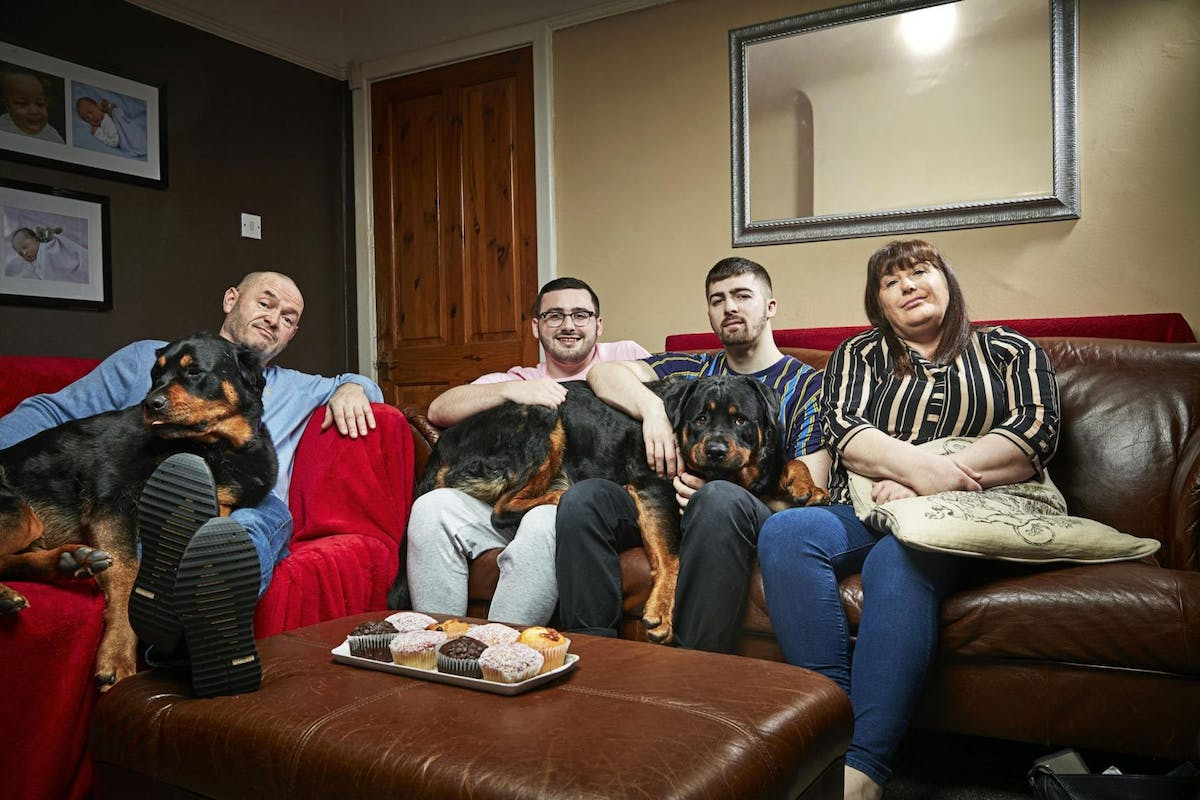 Gogglebox on Channel 4: The Malone family