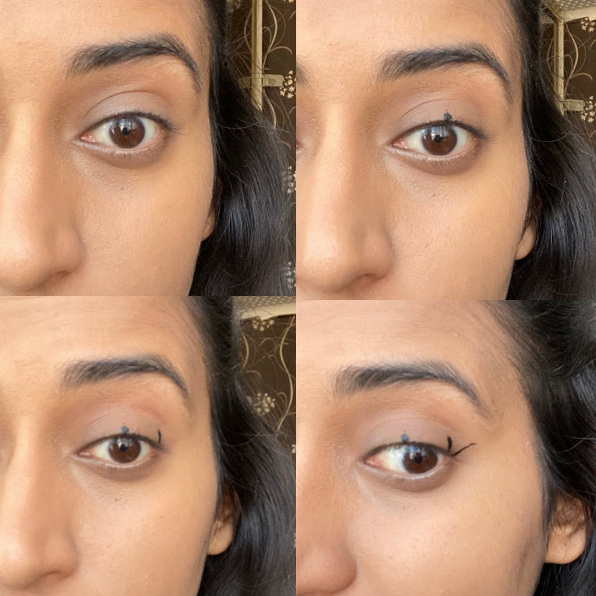 How to do winged eyeliner easily
