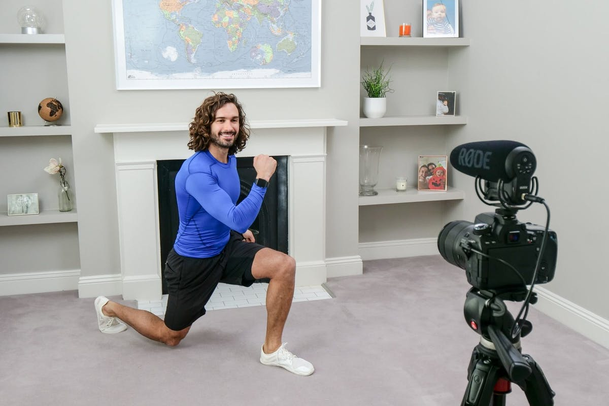 Joe Wicks PE lessons.