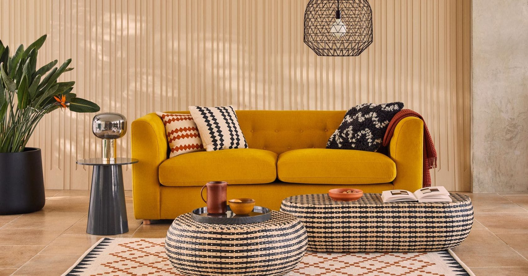 Rattan furniture to nail the natural decor trend