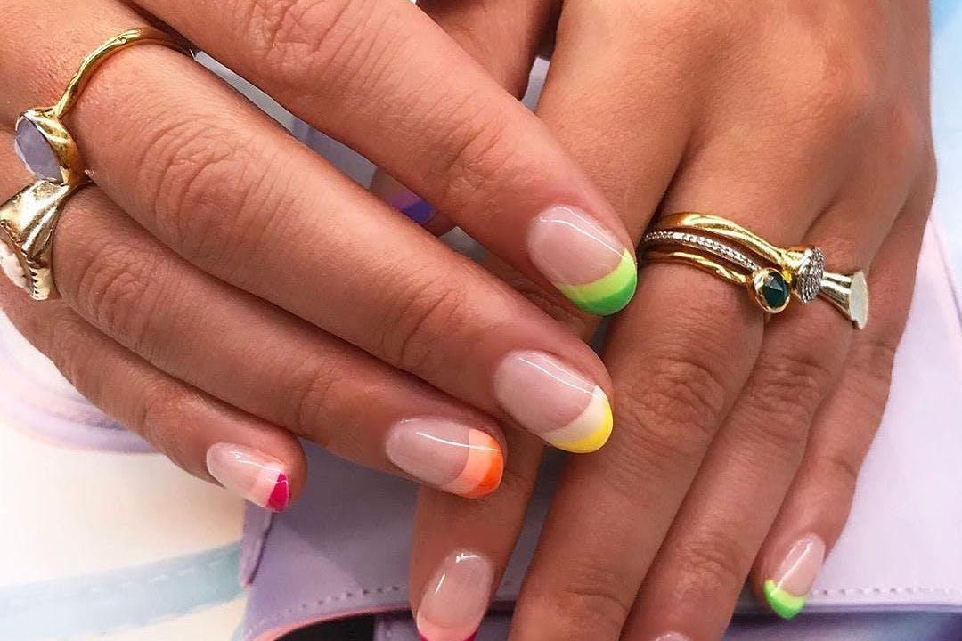 Rainbow Nail Art Trend
