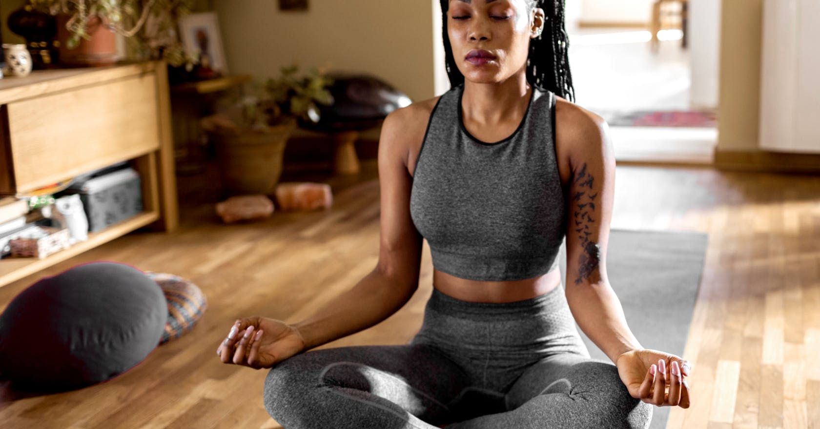 Try this yoga breathing technique to aid your post-workout recovery