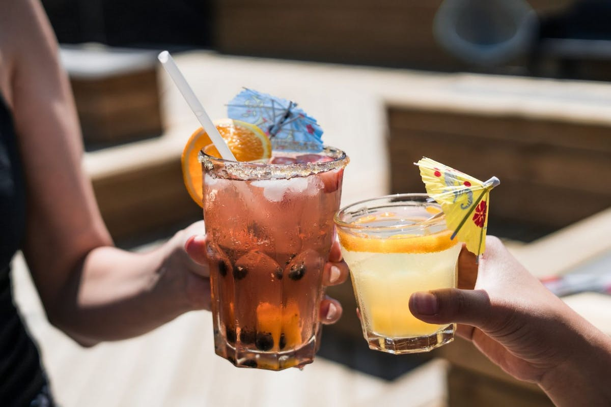 Summery cocktails