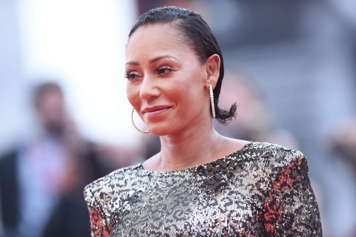 """Melanie Janine Brown, known as Mel B walks the red carpet ahead of the Opening Ceremony and the """"La Vérité"""" (The Truth) screening during the 76th Venice Film Festival at Sala Grande on August 28, 2019 in Venice, Italy. (Photo by Stefania D'Alessandro/WireImage,)"""