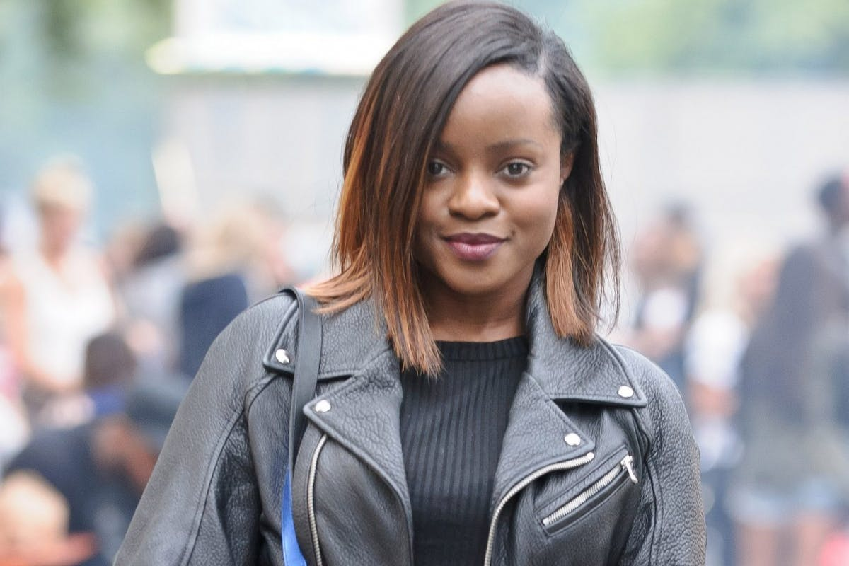 Keisha Buchanan of the Sugababes poses backstage at Wireless Festival at Finsbury Park on July 5, 2014 in London, United Kingdom. (Photo by Joseph Okpako/Redferns via Getty Images)